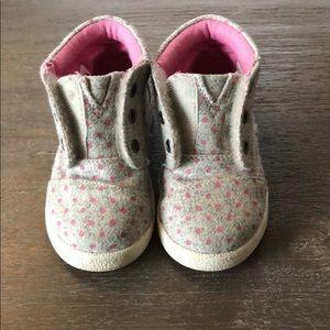 Toddler Girl Toms Sneakers